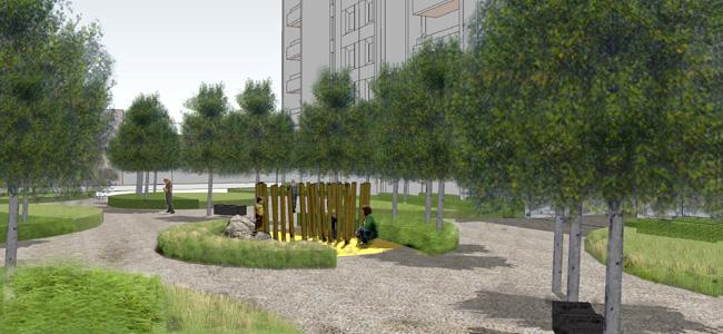 Tower Hamlets Public Landscape